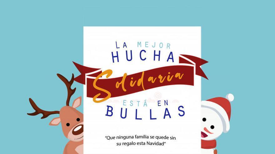 Campaña 'La mejor hucha solidaria se encuentra en Bullas'