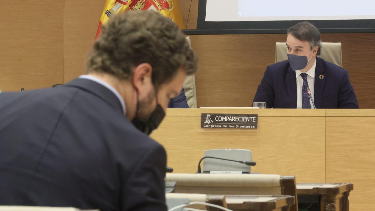 Iván Redondo durante una comparecencia en el Congreso.