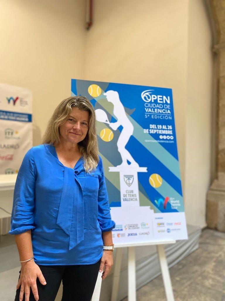 Ana Salas, directora del torneo