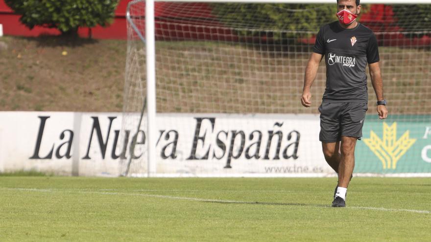 El Sporting reafirma la apuesta por Gallego y el bloque de jugadores: Un proyecto continuista