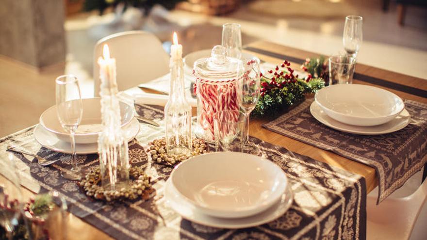 Guía rápida para preparar la mesa en Navidad