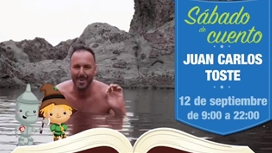 Sábado de cuento con Juan Carlos Toste