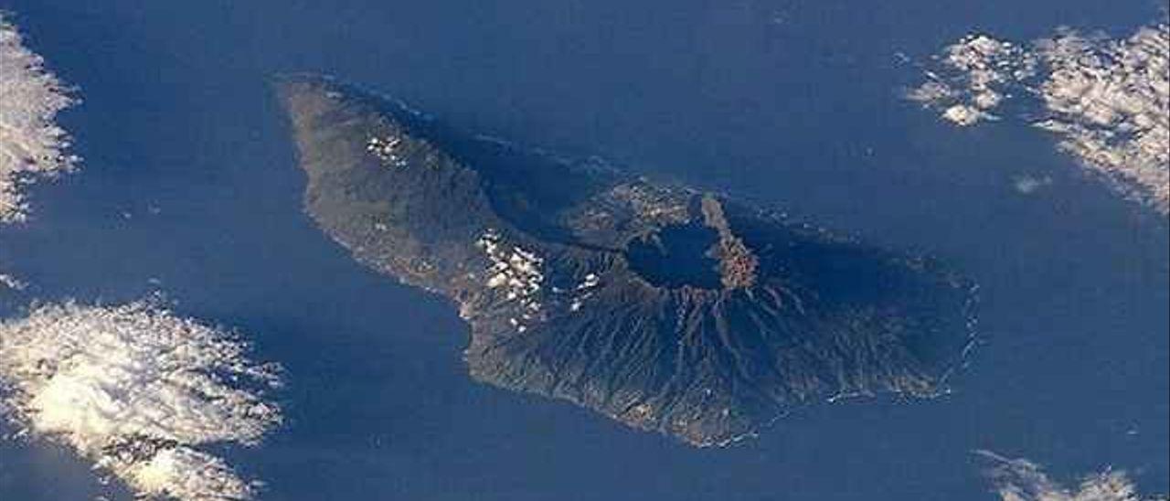 La isla de La Palma.