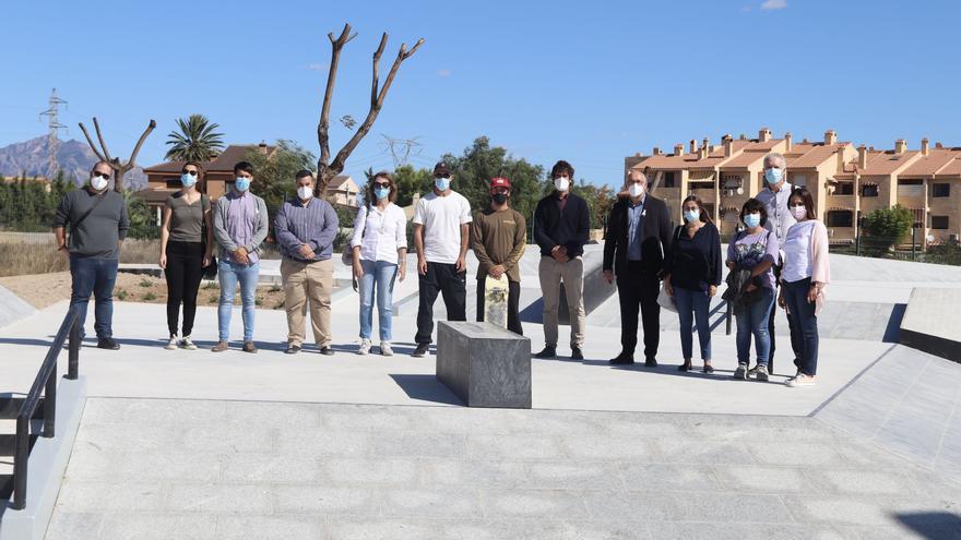 Inauguran el parque de skate de San Vicente