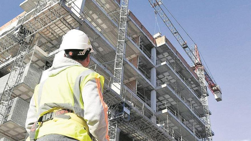 La construcción ha ganado 1.081 afiliados en 2020