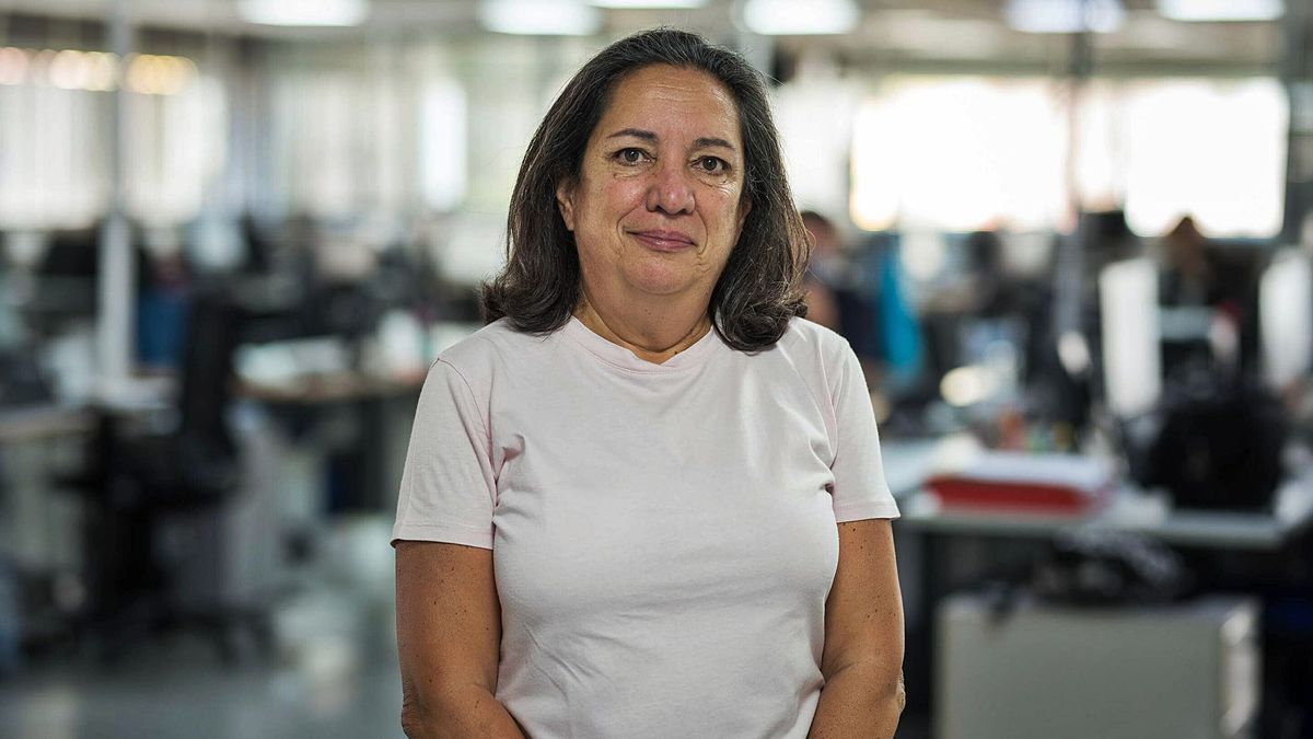 Ana Mengíbar, presidenta de la asociación Queremos Movernos. | | CARSTEN W. LAURITSEN