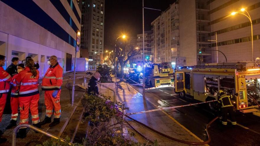 Muere el hombre acusado de haber prendido fuego en el Hospital de Cádiz