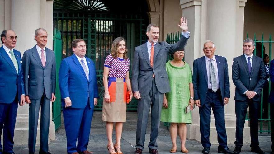 Los reyes, en el Orleans español