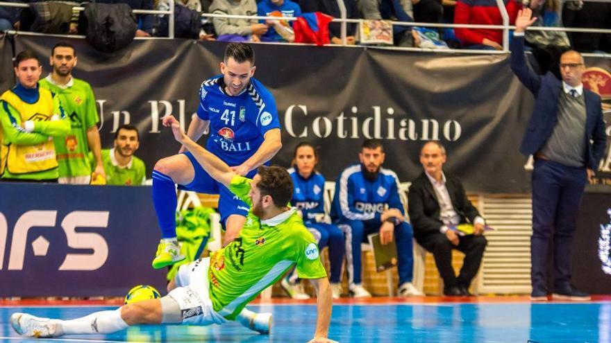 El Palma Futsal se queda con las ganas en Valdepeñas (2-2)