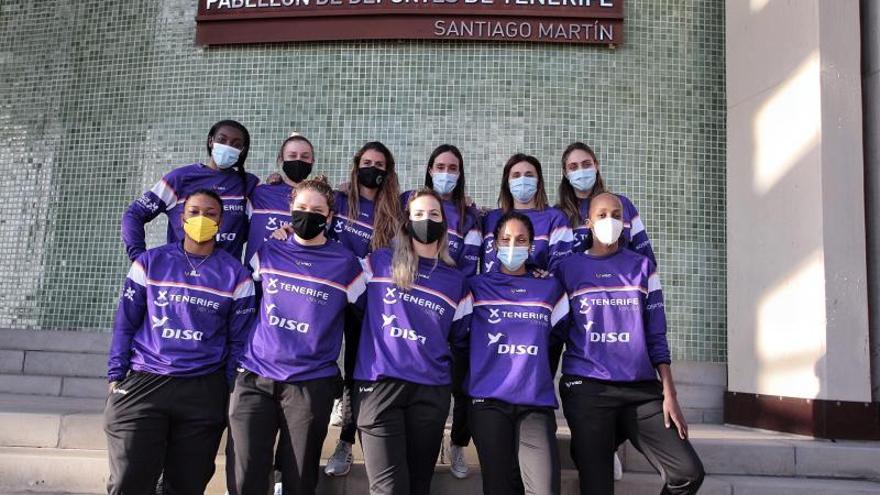 El CDB Clarinos Ciudad de La Laguna acude muy unido a la Eurocup Women
