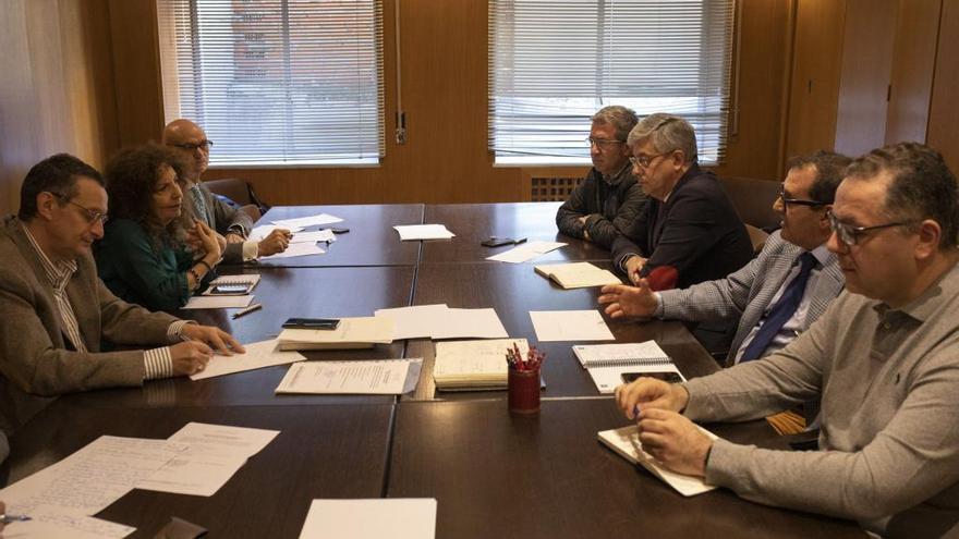 Una de las últimas reuniones del comité técnico de Zamora 10 sobre la Marca Zamora.