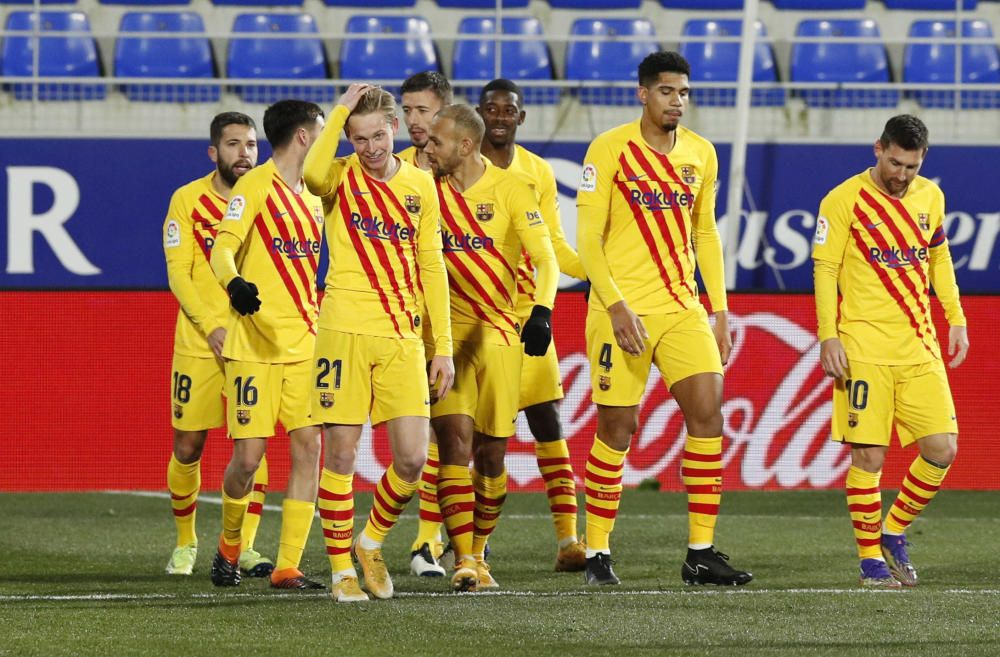 LaLiga Santander: Huesca - Barcelona