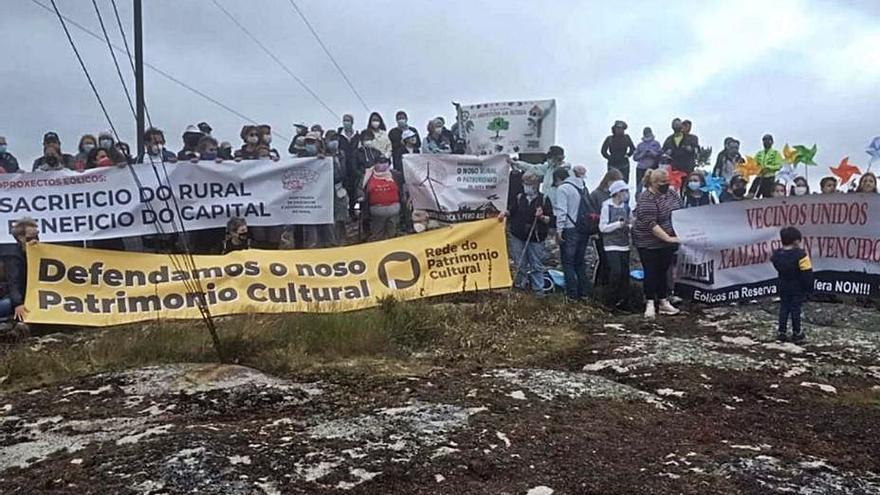 El informe arqueológico de la torre de Teodomiro detalla otros quince elementos en riesgo por los eólicos