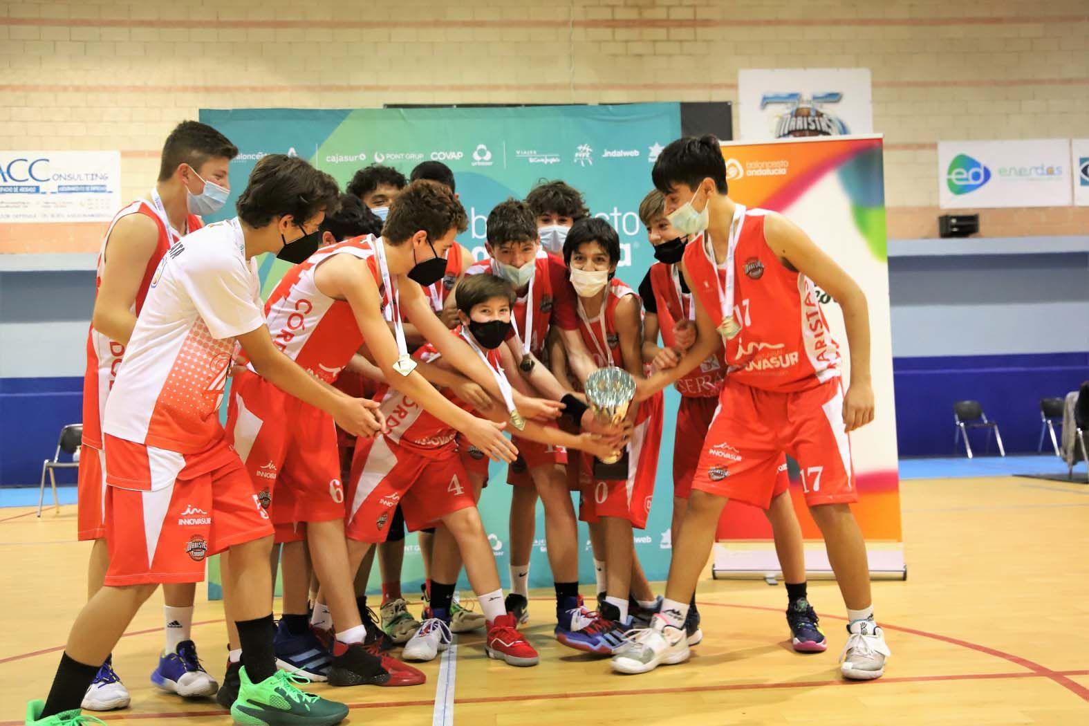 Maristas-Cordobasket final por el título provincial infantil masculino de baloncesto