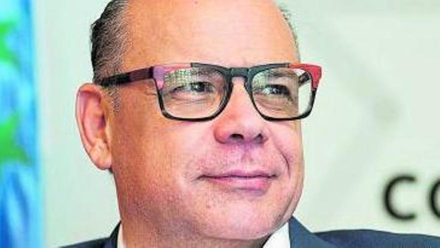 José Miguel Barragán, en la entrevista. | | CARSTEN W. LAURITSEN