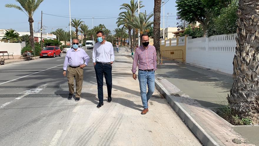 Renovación total en las calles de El Altet