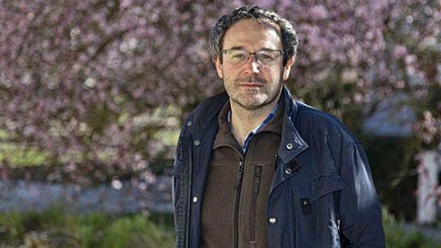 Marcos García Díez, profesor de Prehistoria de la Universidad Complutense.