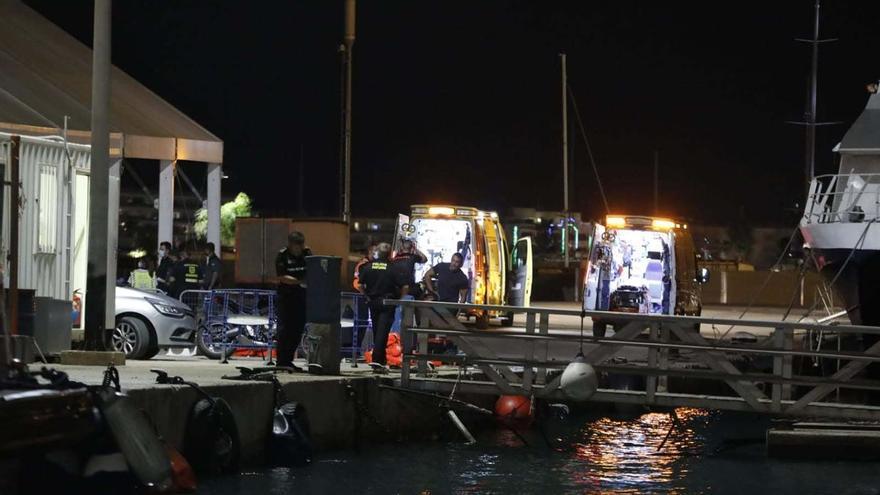 Trasladan a Son Espases en estado grave al niño  herido en el accidente de ferry en Ibiza