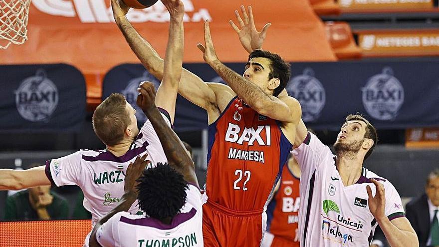 La FIBA ofereix una plaça a l'Unicaja, que va quedar més avall que el Baxi