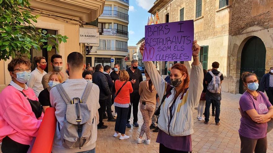 Los restauradores de Manacor estallan en protesta