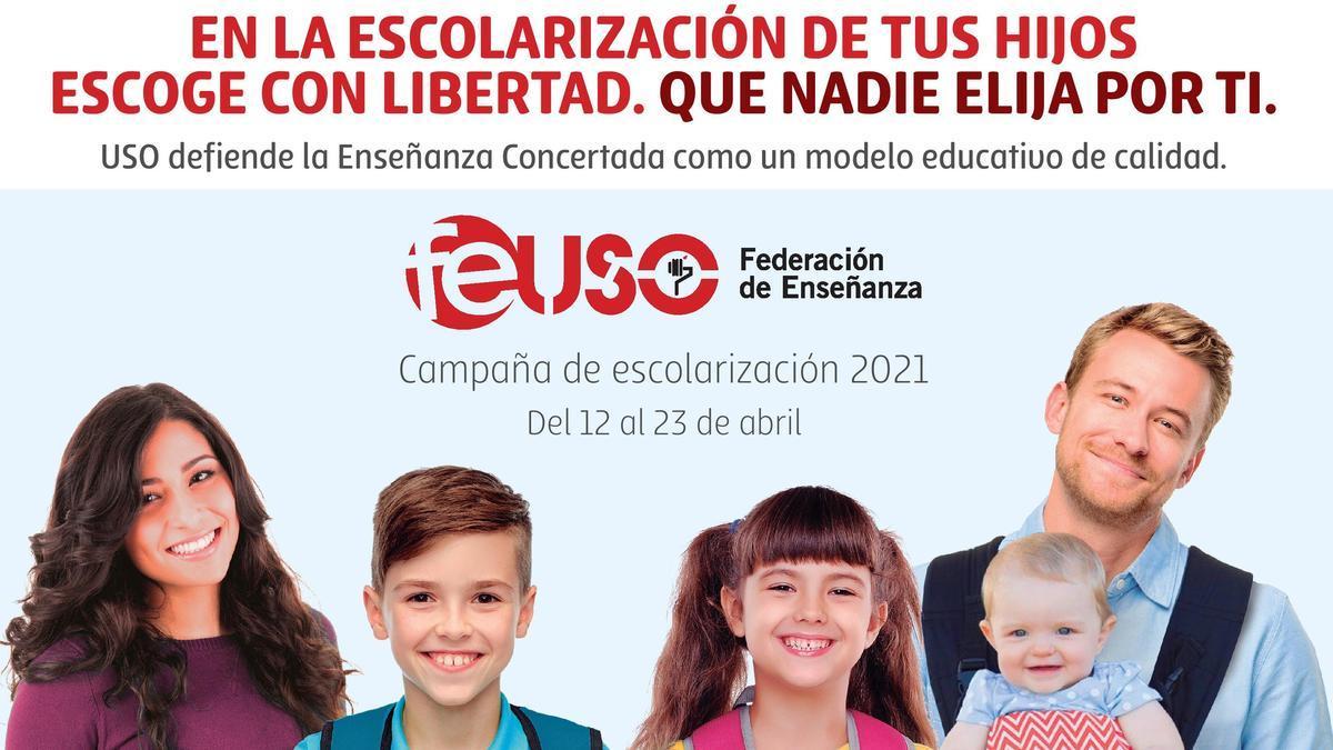 Cartel Extremadura Escolarización