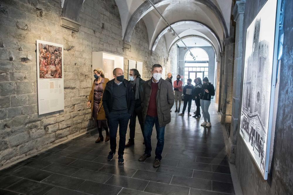 Reobertura del centre d'interpretació de la Manresa de Sant Ignasi, l'Espai 1522