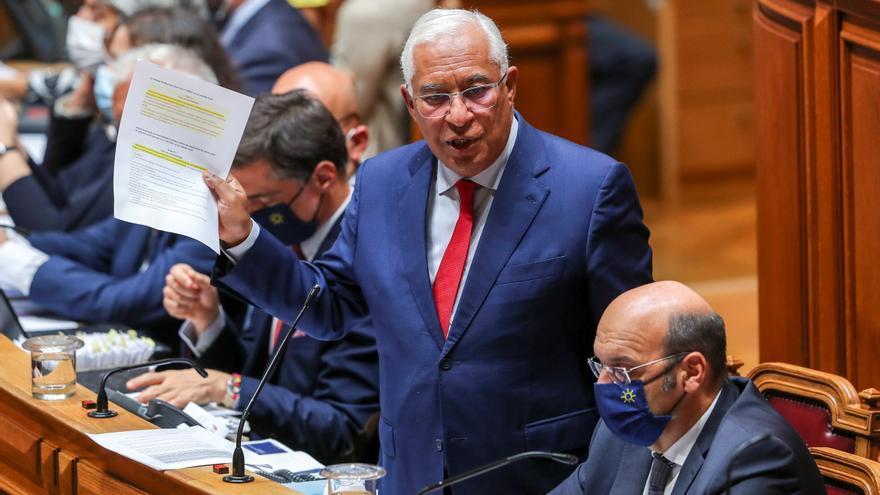 La votación de los Presupuestos decide hoy si Portugal va a las urnas