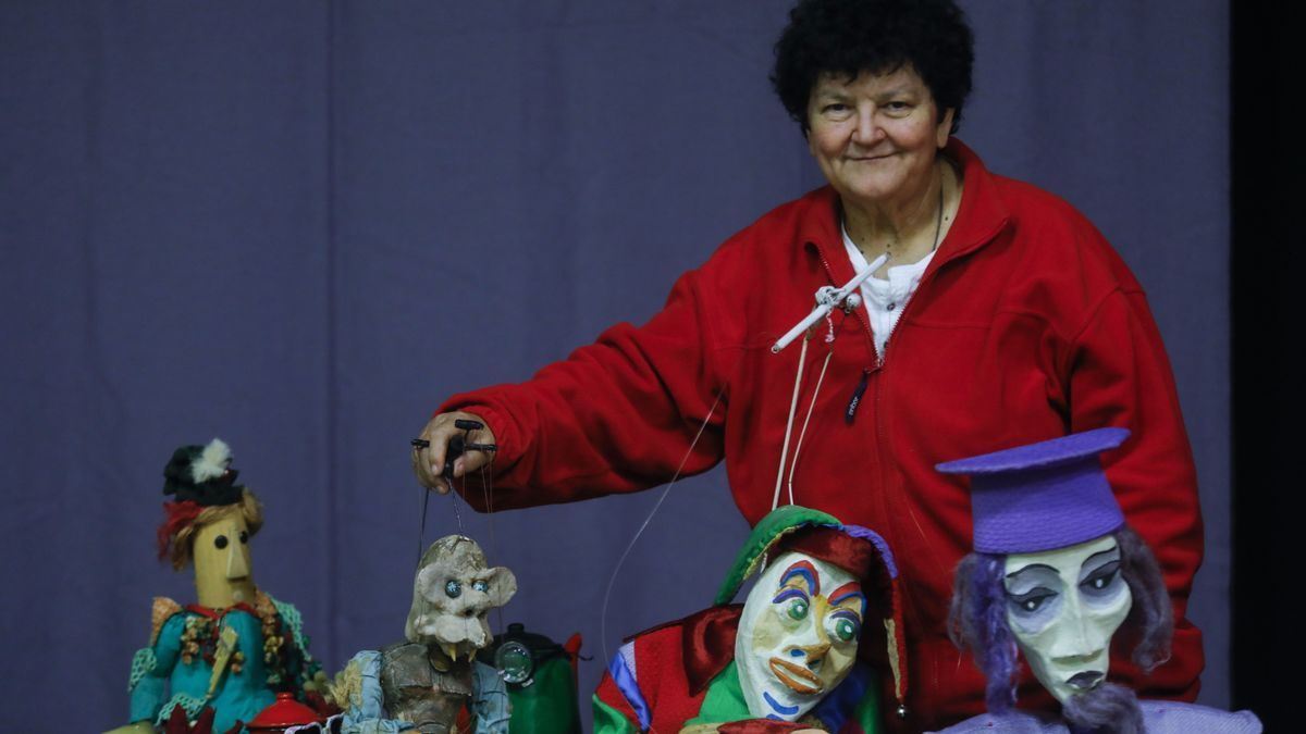 "Empar Claramunt, en el ""Marionetari"""