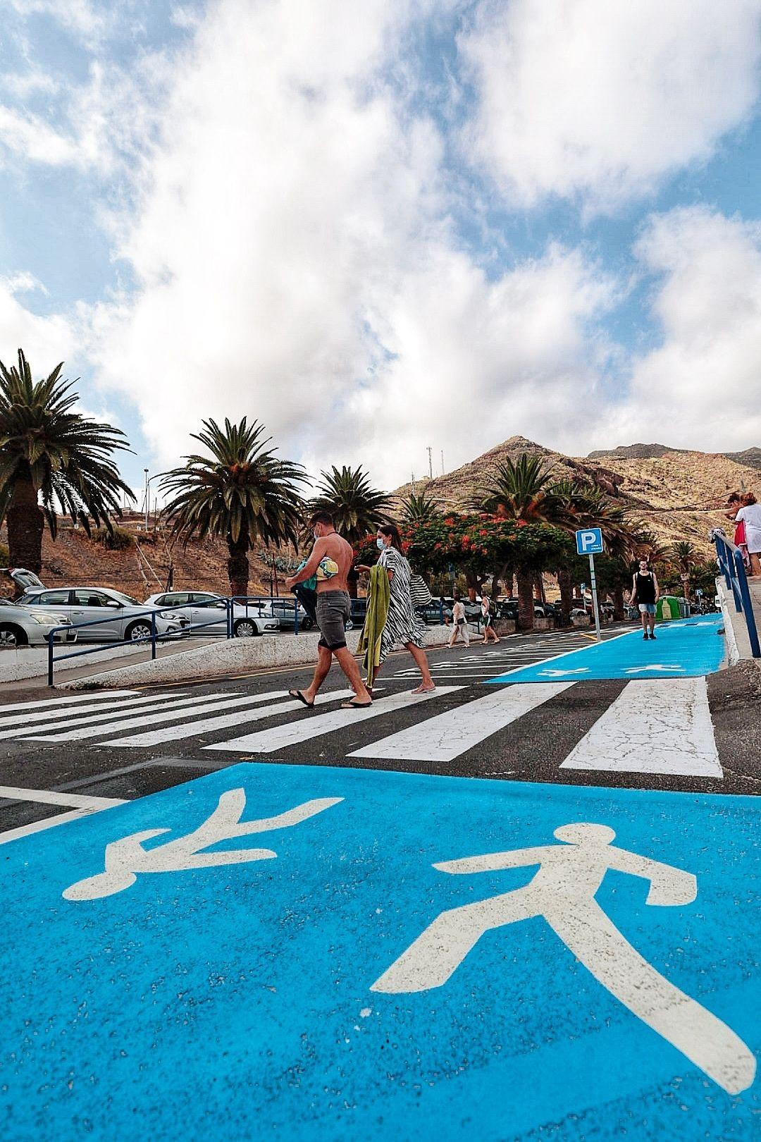 Presentación y apertura del Carril 0 playa Las Teresitas