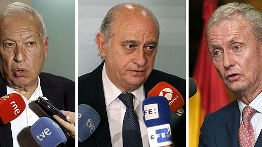 Margallo, Fernández Díaz y Morenés, los descartados