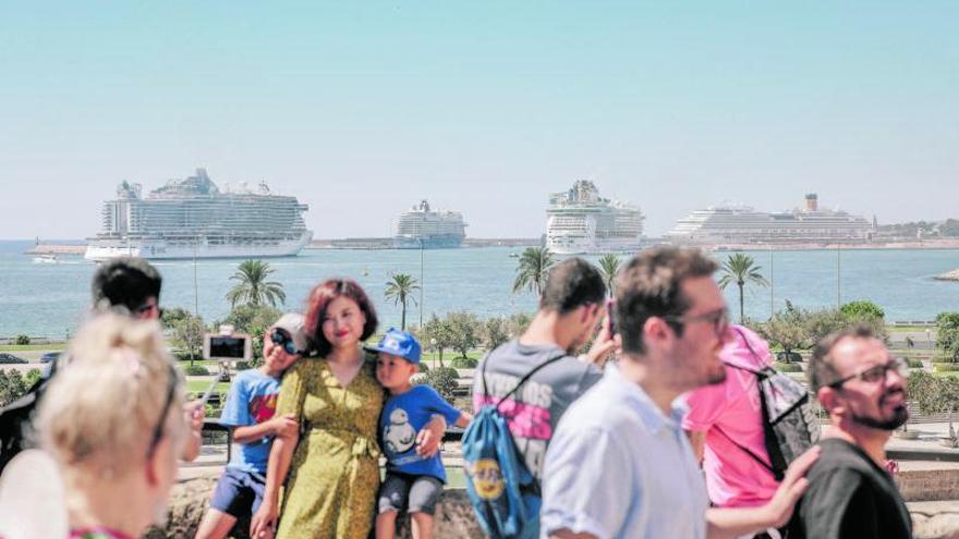El sector de los cruceros critica que Baleares no haya hecho un piloto