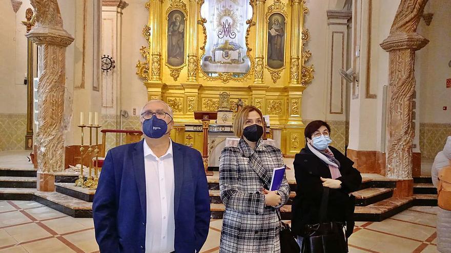 Invierten 365.000 euros en la rehabilitación del Santuario de las Virtudes de Villena