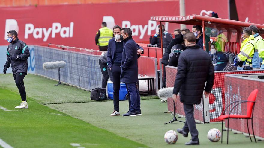 Luis García: «El partido ha sido nuestro, pero el fútbol se gana en las áreas»