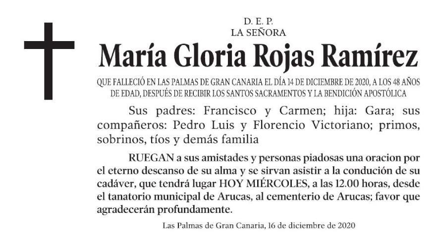 María Gloria Rojas Ramírez