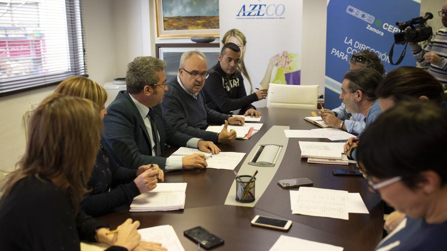 Patronal y sindicatos comienzan la negociación convenios en Zamora