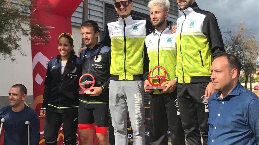 El Triathlón Córdoba gana la Copa Andalucía de duatlón cross