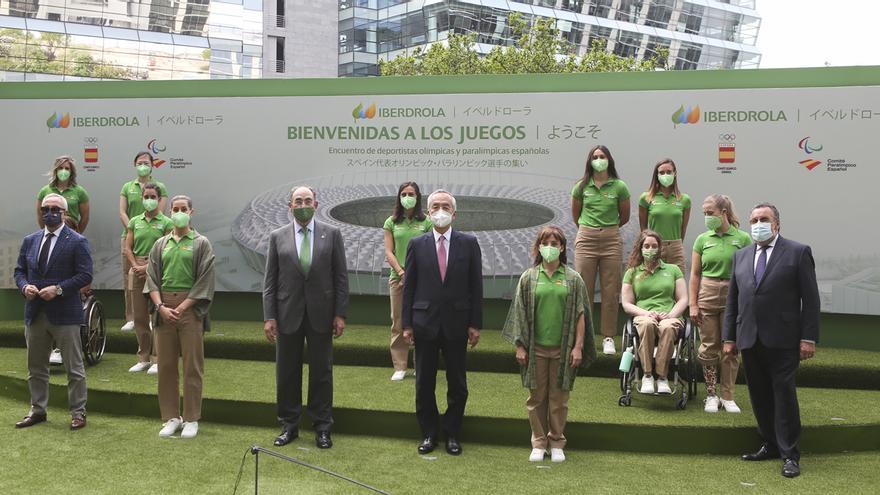 Ignacio Galán recibe a las deportistas olímpicas y paraolímpicas españolas camino de Tokio y les traslada toda la energía de Iberdrola para los Juegos