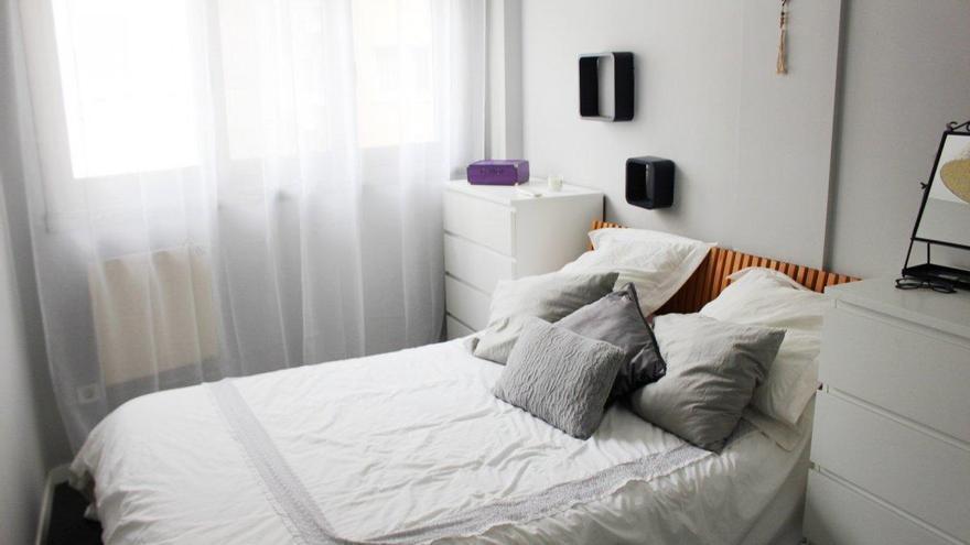 Pisos pequeños, con un dormitorio basta