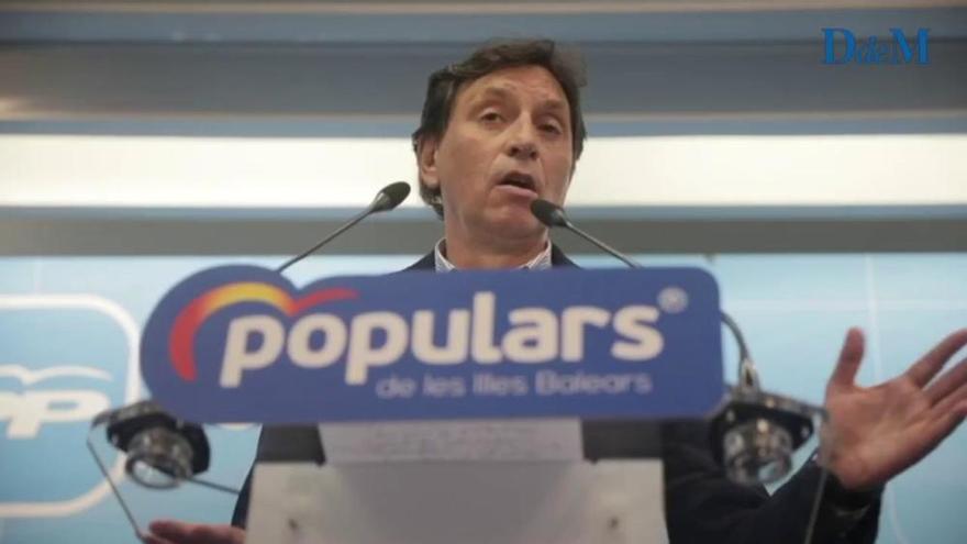 Mateo Isern anuncia de que se retira y no recogerá el acta de concejal