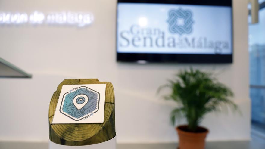 La Diputación pone en marcha una app pionera para guiar a los usuarios de la Gran Senda