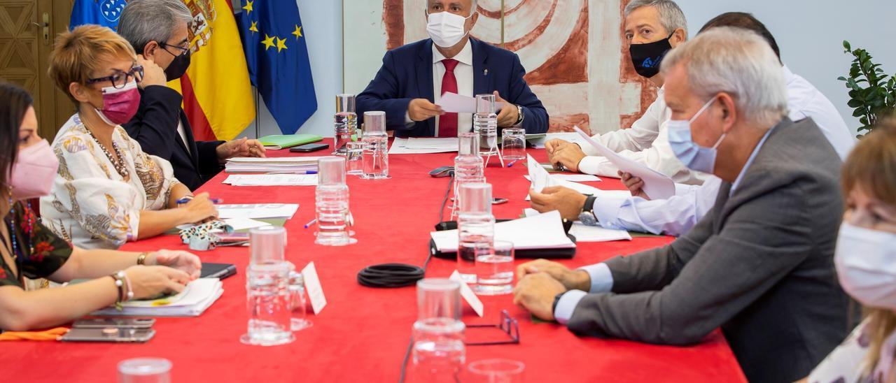 Reunión del Consejo Asesor del presidente.