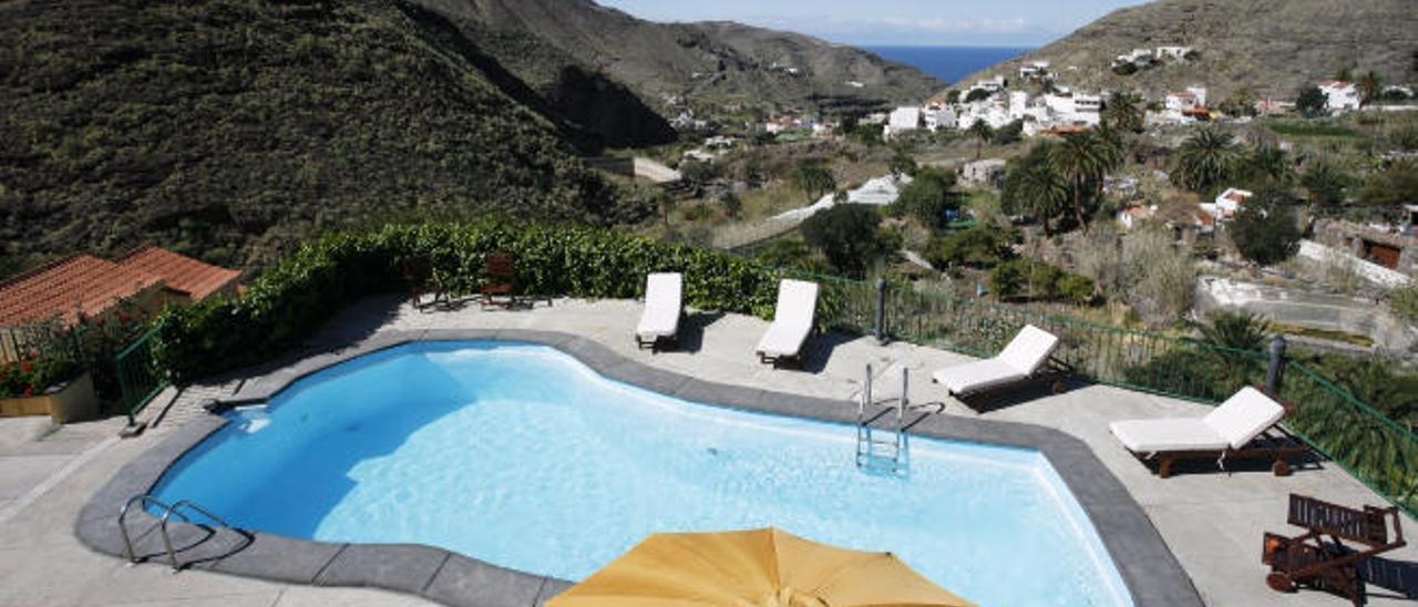 Alojamiento turístico de naturaleza en la localidad de El Risco, en el municipio de Agaete.