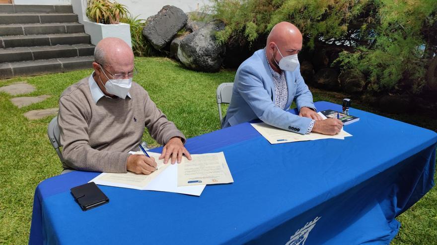 El Ayuntamiento de Puerto de la Cruz y Casa África firman un convenio de colaboración