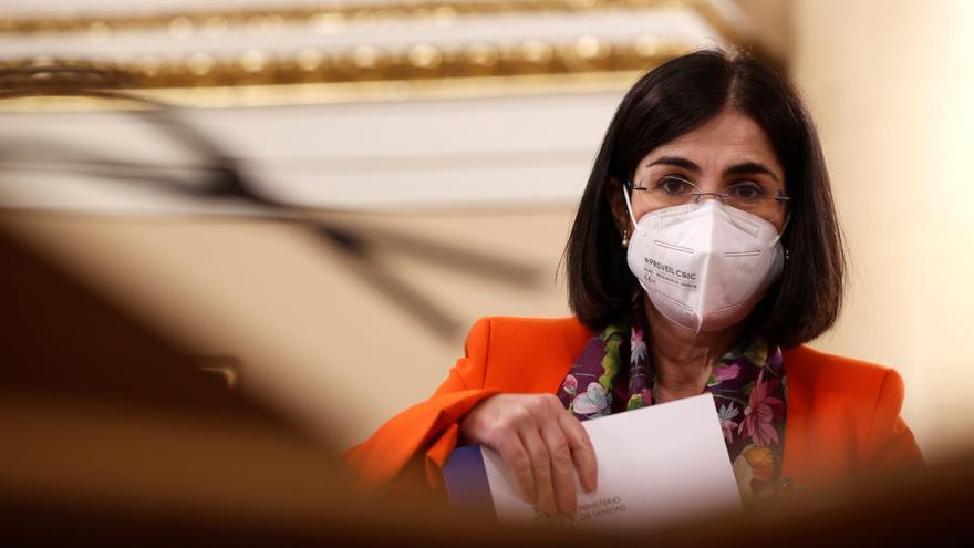 """Darias: """"Hoy son más las personas inmunizadas que el número de personas con contagio notificado"""""""