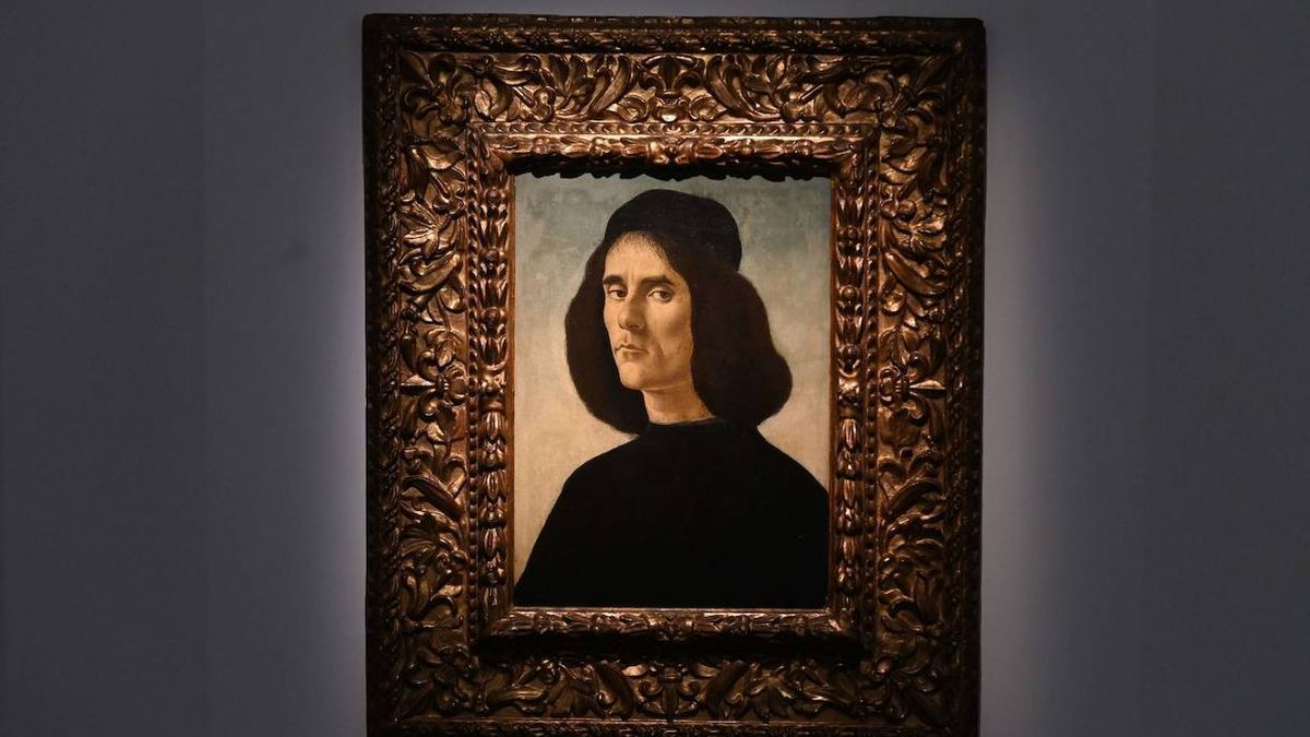 El 'Retrato de Michele Marullo Tarcaniota'.