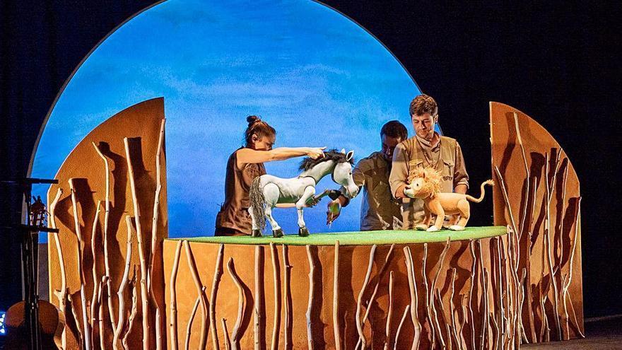 El Pot Petit estrena a Temporada Alta el seu primer espectacle de titelles