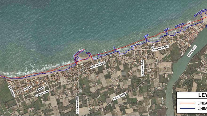 Cullera recuperará la arena y las dunas para frenar la erosión marina