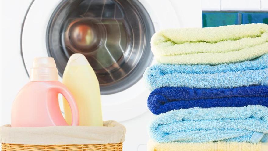 Cinco trucos para que tus toallas queden limpias y esponjosas
