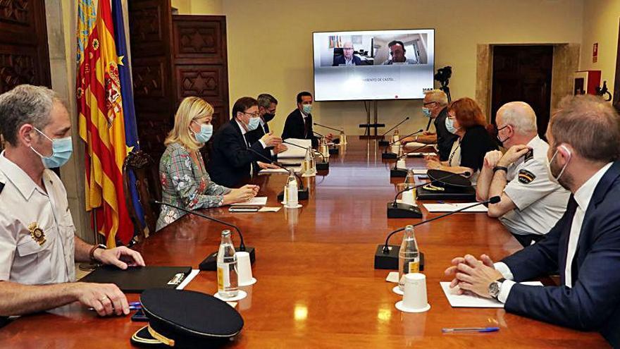 Más control antibotellón en la Comunidad Valenciana al concluir el toque de queda