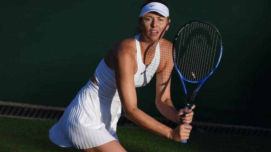 Sharapova reaparecerá en el Mallorca Open tras cinco meses fuera por lesión